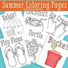 easy peasy coloring page summer coloring pages free printable easy peasy and fun