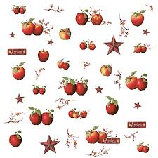 Apple Kitchen Decor roommates rmk1570scs country apples peel u0026 stick wall decals