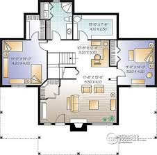 4 bedroom house plans with basement house plan w3958 detail from drummondhouseplans com