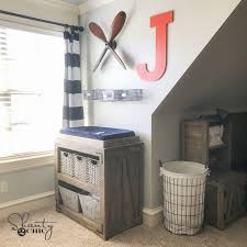 diy changing table topper diy changing table free plans and video tutorial shanty 2 chic
