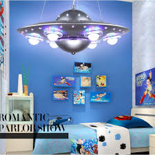 colorful lights for bedroom colorful remote control ufo spaceship chandelier children s room