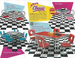 chrome dining room sets still in production after nearly 70 years acme chrome dinettes made