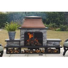 sunjoy outdoor fireplace binhminh decoration
