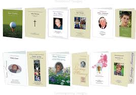 funeral stationery funeral order of service designs funeral stationery