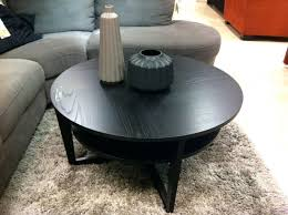 table black round side table uk ikea wood coffee small metal and