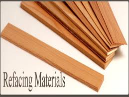 resurface kitchen cabinets veneer cabinet refacing materials wood