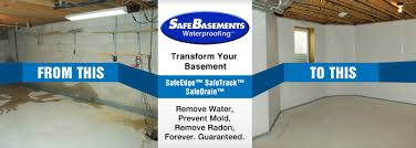 Basement Wall Waterproofing by Leaky Concrete Walls Safe Basements North Dakota