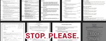 Bad Resumes Everything That About Your Resume That No One Is Telling You