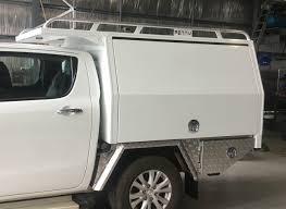 Land Cruiser Aluminium Canopy by Blog Custom Made 4x4 Utes Trays Penny Industries Sunshine Coast