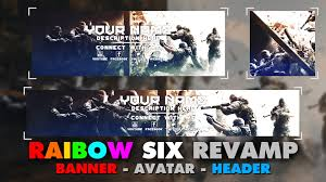 siege free free gfx rev template pack rainbow six siege graphics pack