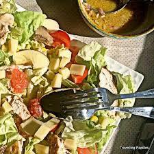avocat cuisine recette de salade de poulet au plemousse et à l avocat la