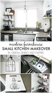 Decorating Ideas For Small Kitchens by Best 20 Small Kitchen Makeovers Ideas On Pinterest Small