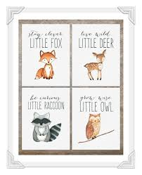 Woodland Animals Nursery Decor 42 Woodland Creatures Baby Room 25 Best Ideas About Woodland
