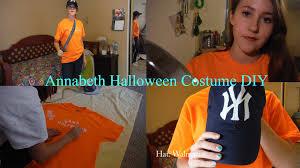 halloween costume diy annabeth chase youtube