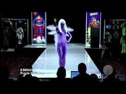 Invisible Halloween Costume Purple Invisible Man Adults Halloween Costume