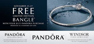black friday pandora pandora black friday weekend bangle windsor fine jewelers