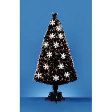 artificial trees 1 5m black fibre optic tree