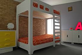 Vivacious Kids Rooms With Brick Walls Full Of Personality - The brick bunk beds