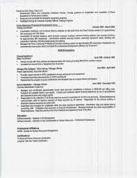 Example Of Education On Resume by Resume Example No College Degree Augustais