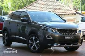 used peugeot suv new used peugeot 3008 suv cars for sale in australia carsales com au