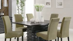 unique upholstered dining room chairs with oak legs modern