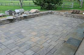 Thin Patio Pavers New Patio With Pavers Or Patio Design 75 Thin Patio Pavers