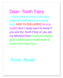 write a letter to santa template a letter from the tooth fairy is the tooth fairy real be prepared this letter is so sweet