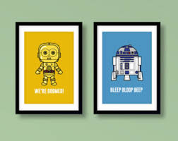 Star Wars Kids Rooms by R2d2 And C3po Star Wars Kids Room Poster Star Wars C3po R2d2