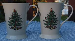 pimpernel spode tree mug set of 2 mugs and coasters ebay