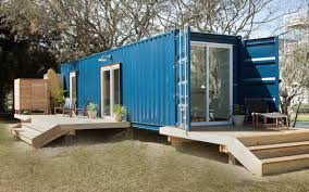 shipping container turned modern beach home u2014 house call small