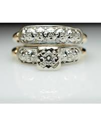 deco wedding band great deal on 1940s vintage deco illusion setting diamond