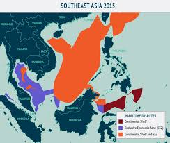 International Time Zones Map by The Evolution Of Asia U0027s Contested Waters Asia Maritime