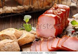 thanksgiving ham dinner stock images royalty free images