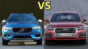 is lexus or audi better what suv is better 2018 audi q5 vs 2018 volvo xc60 q5 vs xc60