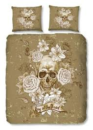 Day Of The Dead Bedding Day Of The Dead Skull Bedding Set House Of Decor