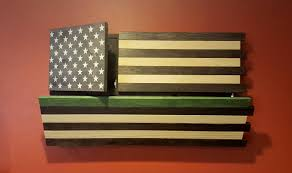 How Many Stripes Are On The Us Flag Rustic American Flag Gun Concealment Cabinet Dual Locking