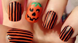 nail art pumpkin nail art halloween rotten nails dscn4276 jpg