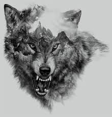 imagenes sorprendentes de lobos wolf collage printed tee design for zara on behance lobos