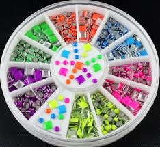 wholesale 3d fimo nail art decoration mixed animal design diy nail