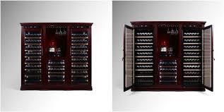 wine cooler cabinet furniture vinbro combo wine cellar cabinet commercial furniture wine rack wine