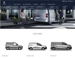 peugeot expert partner van ranges manufacturers u0027 websites the life online