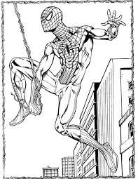 spider man 18 coloringcolor com