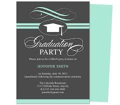 graduation invitation sample with sample graduation party
