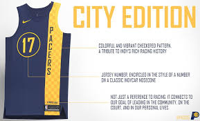 jersey design indiana pacers pacers reveal new city edition uniforms that honor indy s racing