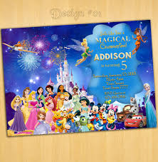 disney birthday invitations afoodaffair me