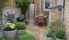 victorian terrace back yard garden side the best small gardens
