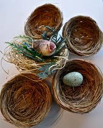run lori run bird u0027s nest christmas ornaments