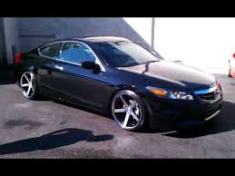 2013 honda accord with 20 inch rims accord on 20 stance wheels ride
