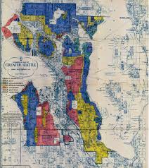 Red Line Map Why Is Seattle So Racially Segregated Kuow News And Information