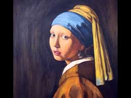 pearl earring painting girl with a pearl earring painting demonstration